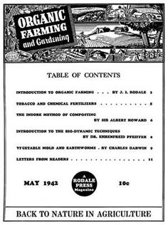 Free download: The premier issue of Organic Gardening magazine from May 1942