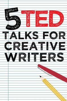 5 TED talks for creative writers – Katelyn Piontek Book Writing Tips, Writing Quotes, Fiction Writing, Writing Resources, Teaching Writing, Writing Skills, Writing Prompts, Creative Writing Classes, Creative Writing Inspiration