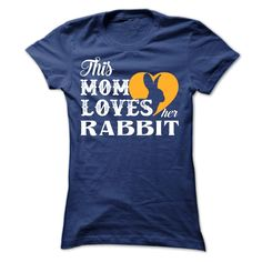 This MOM loves Rabbit, Get yours HERE ==> https://www.sunfrog.com/Pets/This-MOM-loves-Rabbit-Ladies.html?8273 #rabbitlovers #bunnylovers