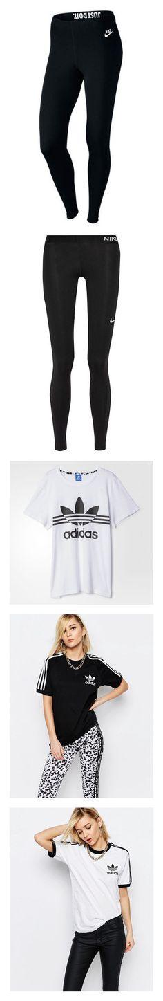 """b"" by beer-alisa ❤ liked on Polyvore featuring pants, leggings, bottoms, sport, nike, black, nike jerseys, sport jerseys, sports jerseys and bamboo jersey"