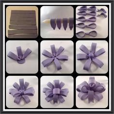 COM - Here is a fun little tutorial on how to make a fondant bow! Bakell products are the leading choice for Cake Artist Professionals, DIY Crafters, and Baking Enthusiasts for everything crafts and confectionery decorating! Fondant Bow Tutorial, Fondant Tips, Fondant Rose, Fondant Flowers, Fondant Baby, Fondant Figures, Fondant Cake Toppers, Fondant Cakes, Cupcake Cakes