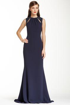 Badgley Mischka Runway Keyhole Evening Gown Love this dress!