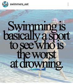 Swimming World, Usa Swimming, I Love Swimming, Competitive Swimming, Synchronized Swimming, Swimmer Quotes, Swimmer Girl Problems, Swimming Motivation, Swimming Funny