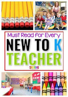 New to Kindergarten