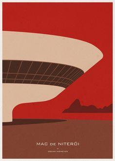 Arte e Arquitetura: Ilustrações de Arquitetura por André Chiote,Cortesia de Arquine