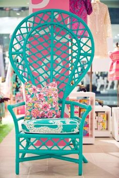 Lilly Pulitzer furniture!!!