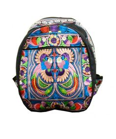 05c6635bb4a26 Hmong Bag Backpack / Ethnic Purse / Embroidered bag/ Hill Tribe bag/ Hippie  Multicolour Bags BP4 - CM11F7KZFRD