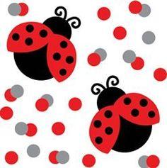 Ladybug Confetti