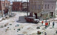 Star Trek comes to Mayberry. Filmed on the set of the Andy Griffith show. The Sheriffs's Office is seen at left.