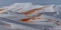 Le foto della neve nel deserto del Sahara - Il Post