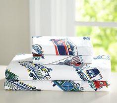 Boys' Sheets, Boys' Sheet Sets & Boys' Bed Sheets   Pottery Barn Kids