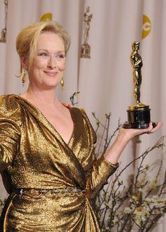 Meryl Streep - 3x Oscar Winner!!