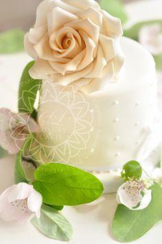 Small wedding cake for Parisian Elopement