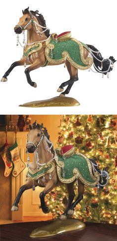 "2010 Breyer Jewel Holiday Horse - 14th in Series- I have this one! This is the first ""year"" horse in #Breyer's that I've ever gotten!"