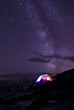 Sahale Glacier Camp / North Cascades National Park, WA USA