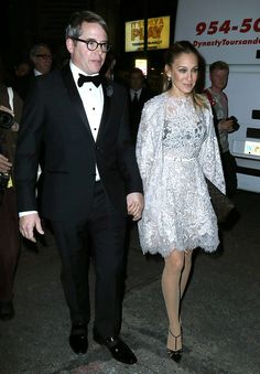 Sarah Jessica Parker and husband Matthew Broderick in New York City***NO DAILY MAIL SALES****