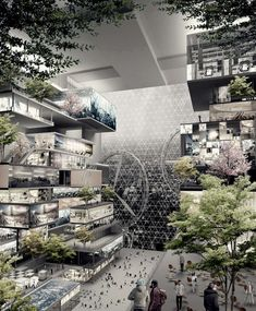 15 More Extraordinary Skyscrapers from eVolo's Fantastic High-Rise Competition - Architizer