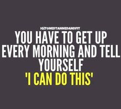 I can do this