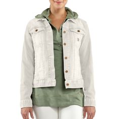 Carhartt Women's Tucker Denim Jacket I have this and love it!!