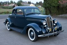 Handsome1936 Plymouth P2 Business Coupe