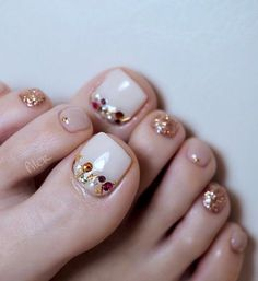 elegant and stylish bright french toe nails design; elegant toe nails in bright colors; bright color design nails for toes; pedicure Elegant And Stylish Bright French Toe Nails Design Pretty Toe Nails, Cute Toe Nails, Pretty Toes, French Nail Designs, Colorful Nail Designs, Toe Nail Designs, Nails Design, French Toe Nails, French Toes