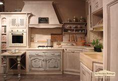 cucina muratura shabby chic - Cerca con Google | Svět kuchyně ...