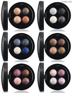 Spring 2014: MAC Mineralize Eyeshadow Quad Collection