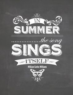 In Summer...
