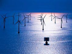 ENERGÍAS RENOVABLES: solar, eólica, biomasa, geotérmica, hidráulica y marinas. Aprende medinte imágenes.