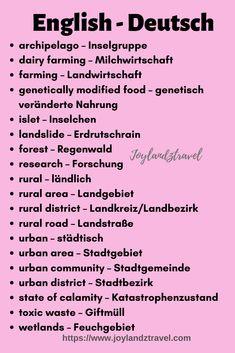German Language Learning, Learn A New Language, Dual Language, English Language, German Grammar, German Words, Learn French, Learn English, French Lessons