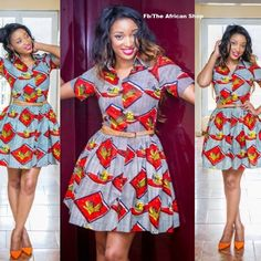 Robe Victoria par THEAFRICANSHOP