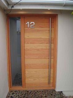 Picture only of what i want for an interior barn door at my big craft room. Wood Entry Doors, Oak Doors, Entrance Doors, Front Doors, Aluminium Front Door, Modern Front Door, Timber Door, External Doors, Traditional Doors