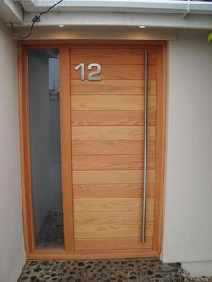 front door. Picture only of what i want for an interior barn door at my & Cool wooden front door with glass! | Funky Doors! | Pinterest ... Pezcame.Com