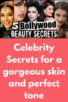 Celebrity Secrets for a gorgeous skin and perfect tone What you need to have shiny body like celebrities, expensive products? No, you just need some time and few tips that you can easily follow. 1: Milk for Skin Lightening – While taking bath pour a cup of raw milk in your bucket full of water. Milk makes your skin tight, glowing, & lighter. It …