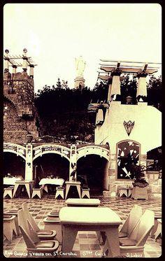 Se iba a escuchar y bailar jazz al Roof Garden del Cerro San Cristobal, diseño integral de Luciano Kulczewski García. | by santiagonostalgico