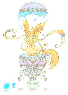 Egg Sylveon ... From キャラメリゼ・ナイトフィズ ... sylveon, pokemon
