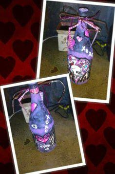 Tattoo love Valentine's day bottles