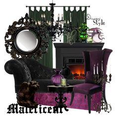 """Disney Style : Maleficent"" by missm26 on Polyvore"