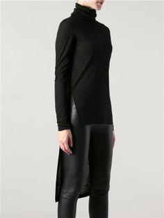 Women - All - Ann Demeulemeester Roll Neck Tail Sweater - Degli Effetti