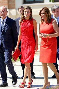 Queen Letizia of Spain inaugurates the annual meeting with director of Cervantes Institutes at Museo Ruso San Petersburgo on July 24, 2017 in Malaga, Spain.
