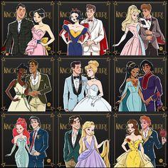 Disney princess - Mara E. Anime Disney Princess, Anime Princesse Disney, Disney Princess Pictures, Disney Princess Fashion, Disney Princesses And Princes, Disney Princess Drawings, Disney Drawings, Every Disney Princess, Disney Princess Cartoons