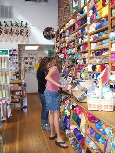 is there anything  better than an awesome store devoted to yarn?!