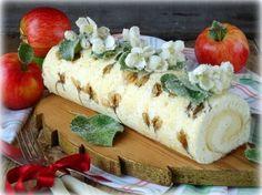 Бисквитный рулет с яблочным парфе - рецепт - как приготовить - ингредиенты, состав, время приготовления - Леди Mail.Ru