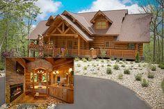 Million Dollar Log Cabin   10. Gatlinburg - Tennessee, 10 Most Romantic Homes in America, Top 10 ...