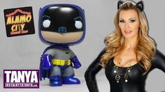 REVIEW: Batman TV Show Alamo City Comic Con Exclusive Funko POP Figure  Do you collect Funko POP! vinyl figures? You'll like this one from the Alamo City Comic Con. It's an #exclusive metallic #Batman from the 1966 Adam West Tv Show. I also do some #Catwoman #Cosplay in the video! Take a look!