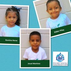Meet a few of Young Living Academy's newest students- Romina, Edder and Josue!