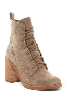 4396ae0da4c Dolce Vita - Rowley Lace-Up Block Heel Boot Lace Up Block Heel