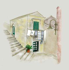 sólo pepistika: Italy (versión foto de thelowtraveler) Mirror, Home Decor, Digital Illustration, Illustrations, Pictures, Decoration Home, Room Decor, Mirrors, Interior Design