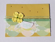 Handmade Paper Birthday Greeting Card by Scrapbooker429 on Etsy, $3.75 https://www.etsy.com/listing/151810041/handmade-paper-birthday-greeting-card?ref=shop_home_active_3
