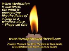 meditation quote from the bhagavad gita when meditation is mastered ...